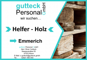 Helfer für Holzarbeiten in Emmerich