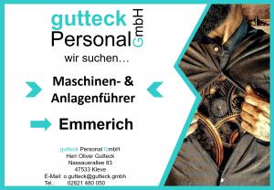 Maschinenführer in Emmerich