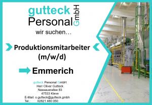 Produktionsmitarbeiter Emmerich